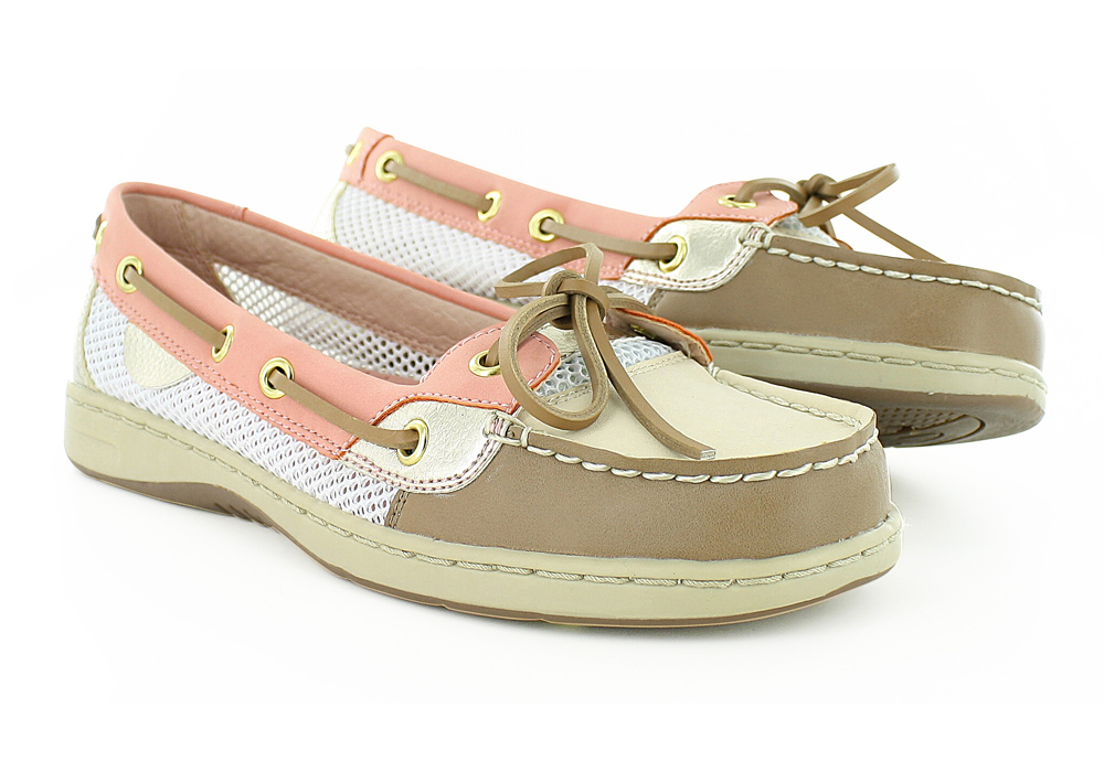Womens Sperry Top-Sider Angelfish Boat Shoe Gray