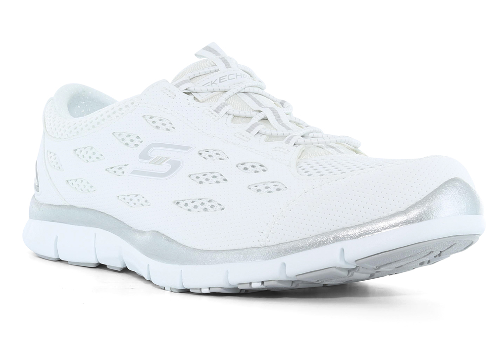 Womens Skechers Spt Active Gratis Going Places White