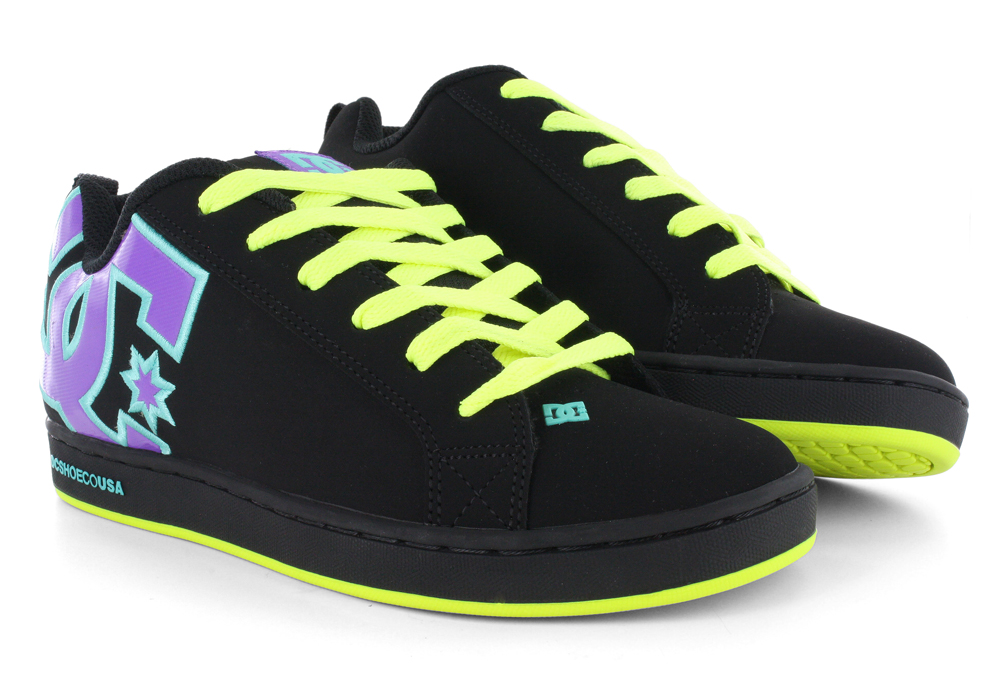 Dc - Chelsea Tx Lowtop Vulcanized Shoe, UK: 3 UK, Black/Black/Crazy Pink: Amazon.co.uk: Shoes & Bags
