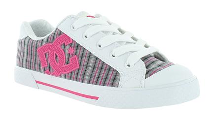 Journeys Shoes: Womens DC Pixie 3 - White/Pink/Black - DC Shoes
