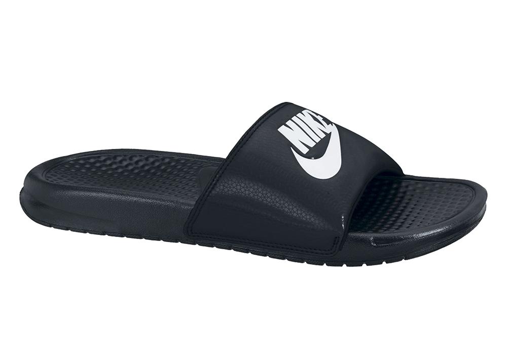 8c8a1fcdbb0e Mens Nike Benassi JDI Slide Black   White in Black