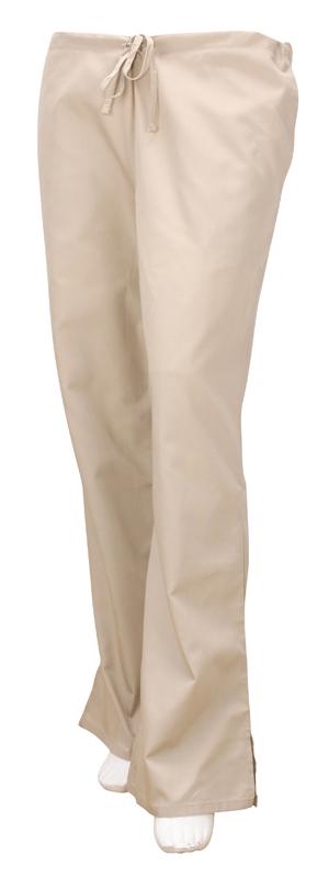 Womens Cherokee Workwear Flare Pants Khaki