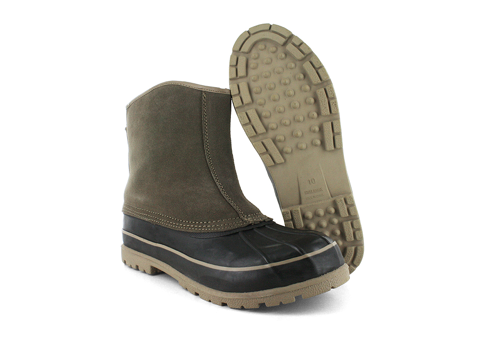 Mens Slip On Winter Boots - Cr Boot