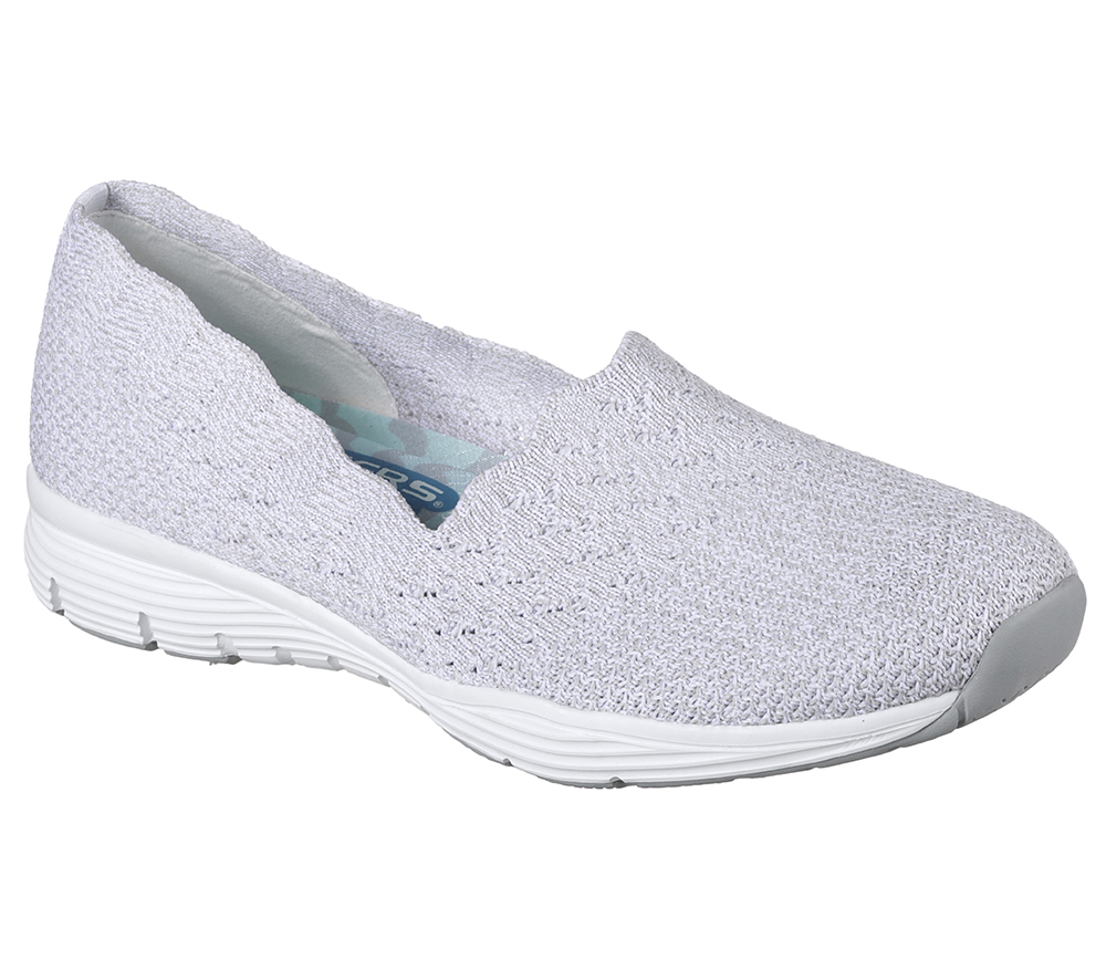 Skechers Grey Boat Shoe Womens