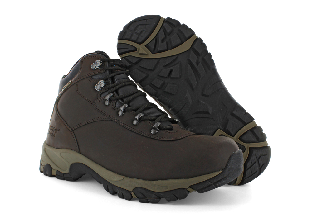 4c95fa3694e648 Hi-Tec > Mens Hi-Tec Altitude V i Mid Waterproof Hiker Dark Chocolate