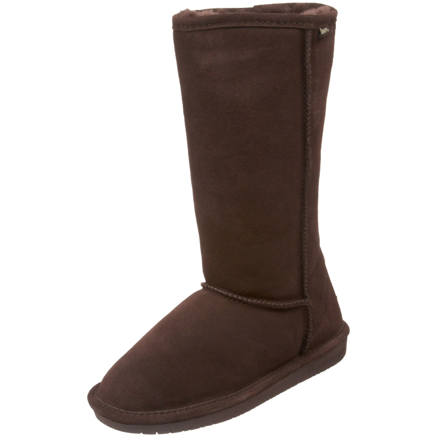 womens bearpaw 12 quot pull on boot chocolate