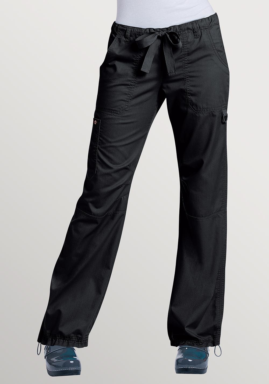 Womens Koi Lindsey Pants Tall Black