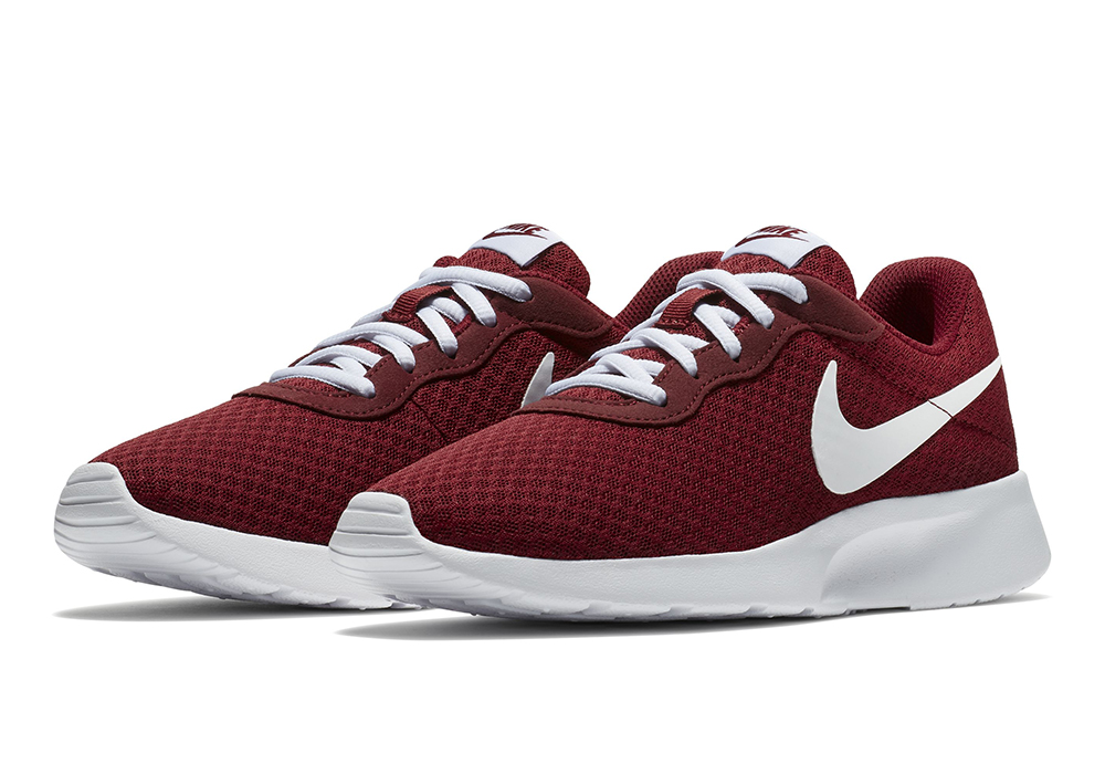 Womens Nike Tanjun Runner Varsity Red White in Red 8e50a40ff