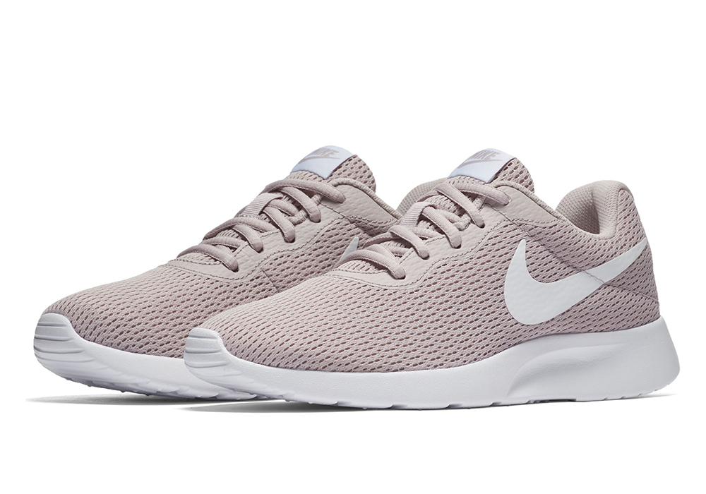 elegant shoes various colors release info on Womens Nike Tanjun Runner Rose Gold/White