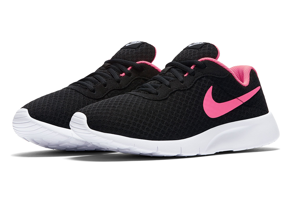 3f3d892779 Big Girls Nike Tanjun Athletic Black/Pink in Black