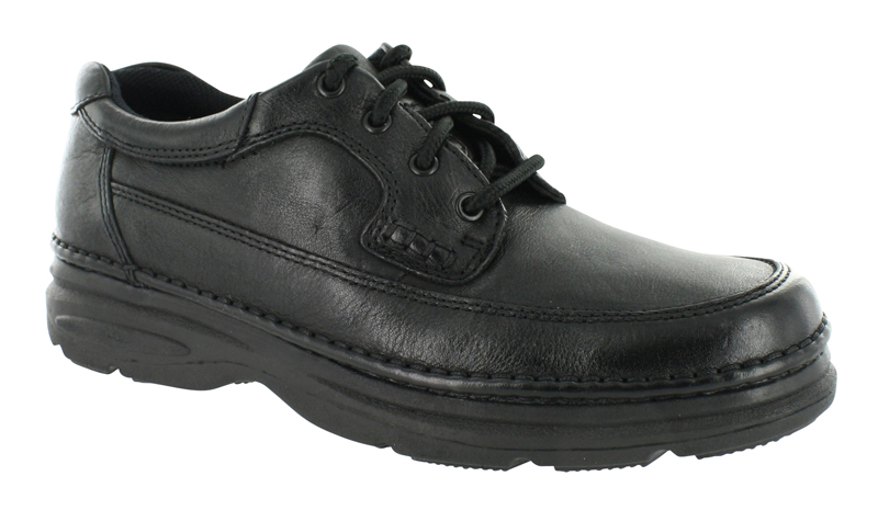 Mens Nunn Bush Cameron Moc Toe Oxford Black