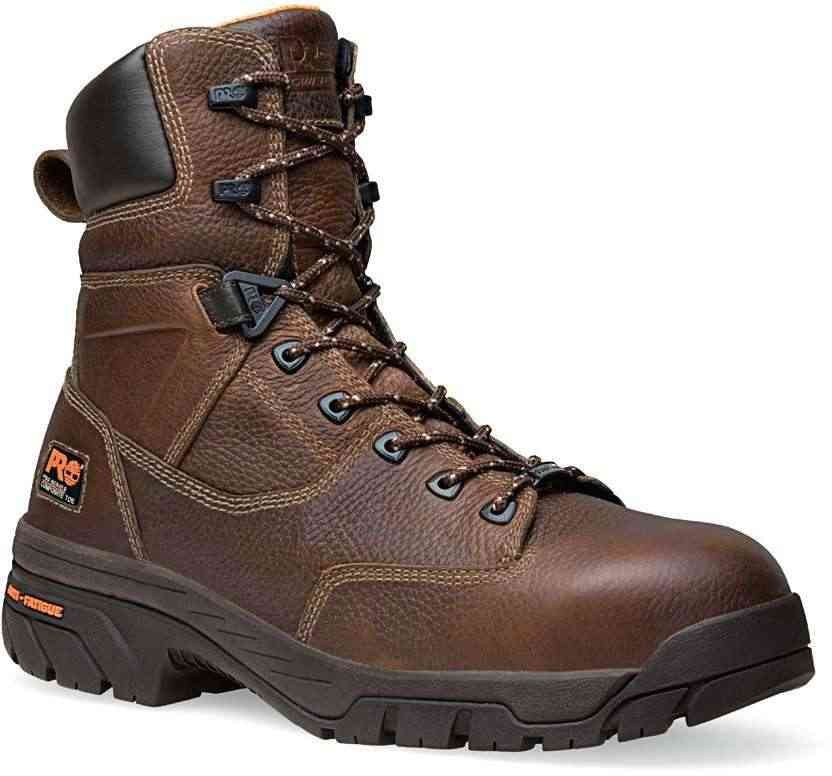 Mens Timberland Pro 8 Quot Composite Toe Eh Waterproof Helix Brown