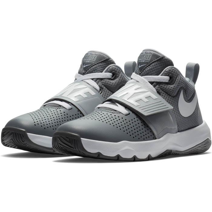 ba21d9e8417f Big Boys Nike Team Hustle D 8 Basketball Gray Black in Gray