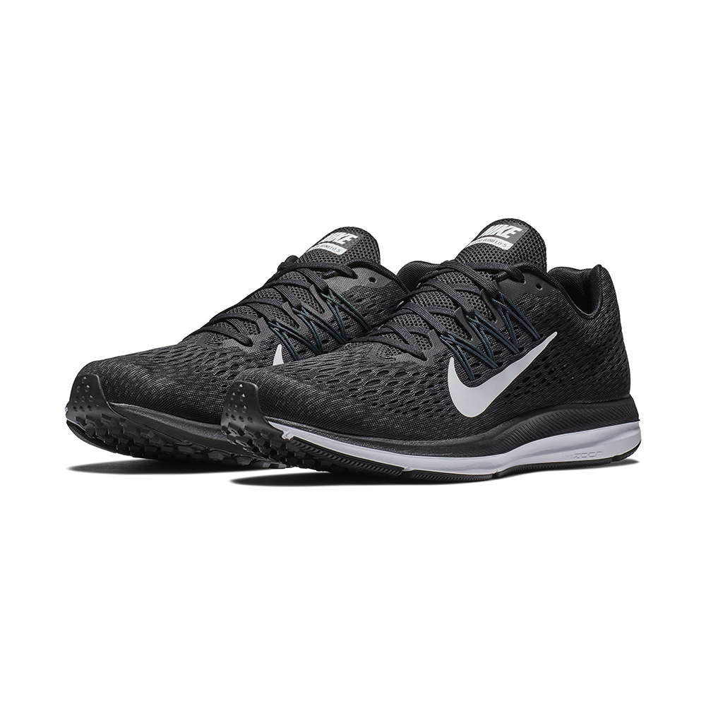 outlet store sale latest fashion amazing selection Mens Nike Air Zoom Winflo 4 Runner Black/White