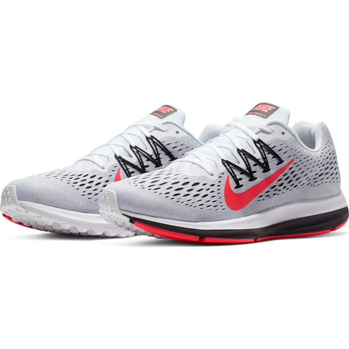 huge selection of bb4ee 65d40 Mens Nike Air Zoom Winflo 5 Runner Gray/Black/Red