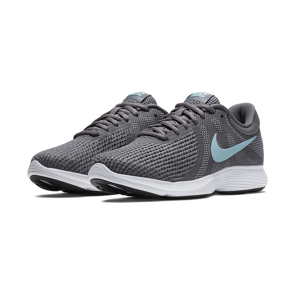 c82a52004a5fd Womens Nike Revolution 4 Wide Runner Gray Blue in Gray