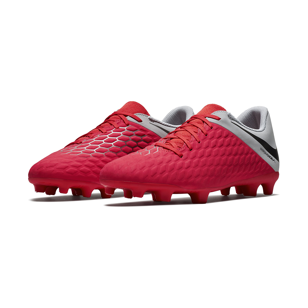 c0843ab5c Mens Nike Phantom 3 Club FG Soccer Gray Red in Gray