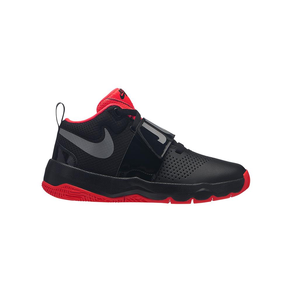 51df777c31f Big Boys Nike Team Hustle D 8 JDI Basketball Black Red in Black