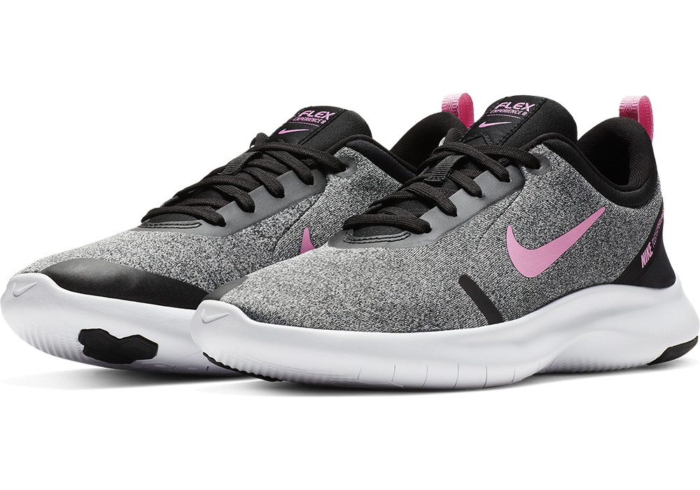e7f427a3fecd Womens Nike Flex Experience RN 8 Wide Runner Gray Pink in Gray