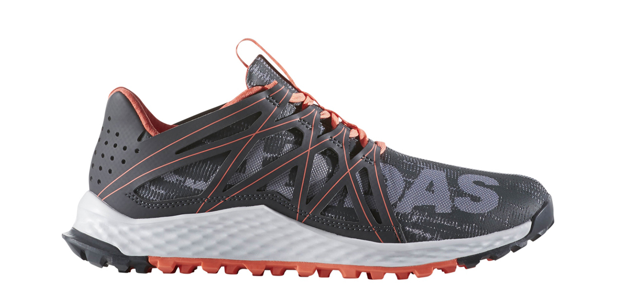 3e77dafac56e0 Womens Adidas Vigor Bounce Trail Runner Gray Pink in Gray