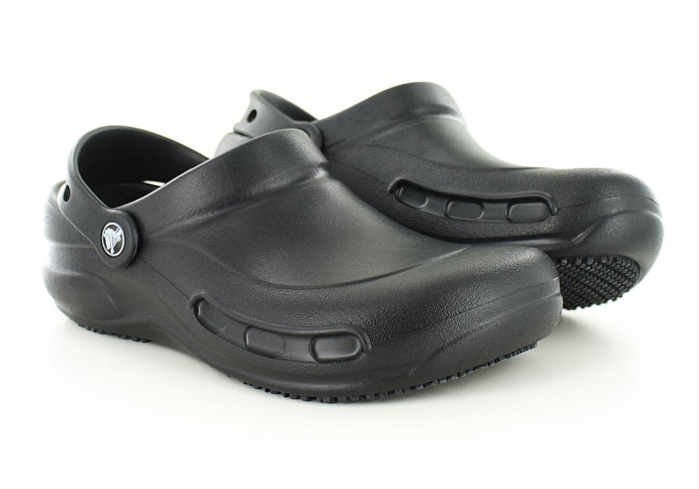6f3fc15cb Crocs   Womens Crocs Bistro Slip Resistant Clog Black