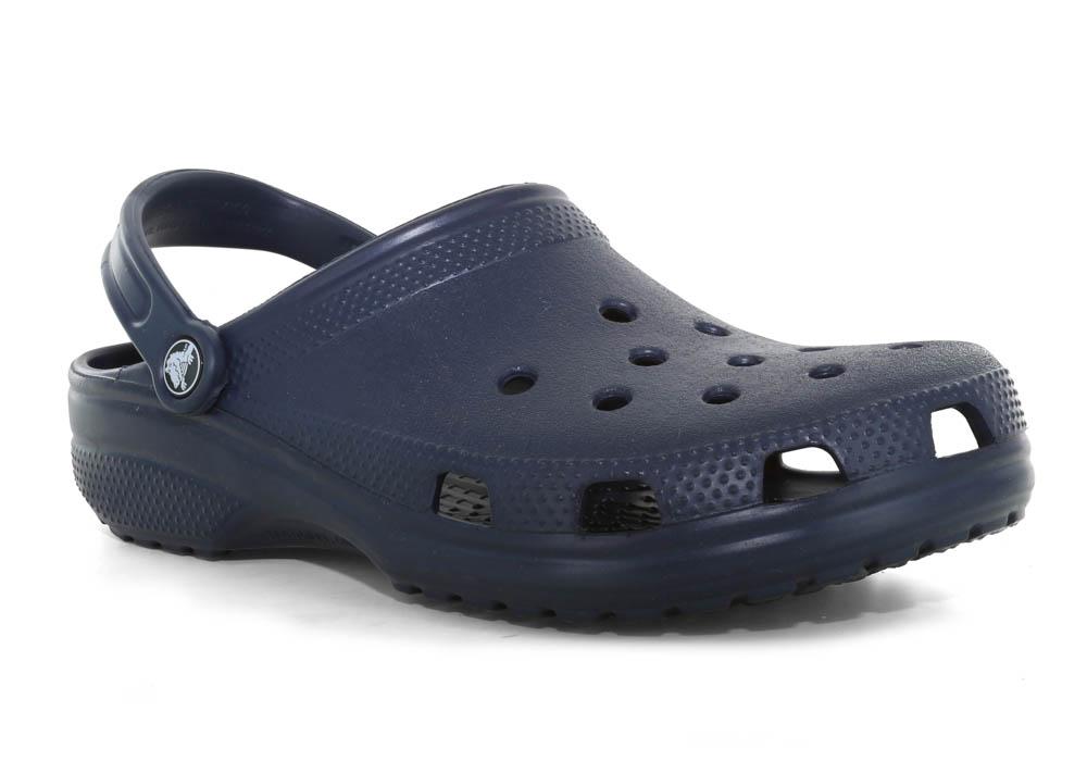 1aa542c4f0278f Mens Crocs Cayman Clog Navy in Blue