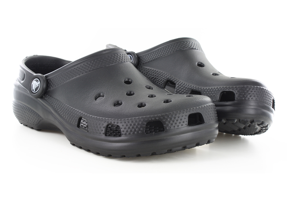 Womens Crocs Cayman Clog Black