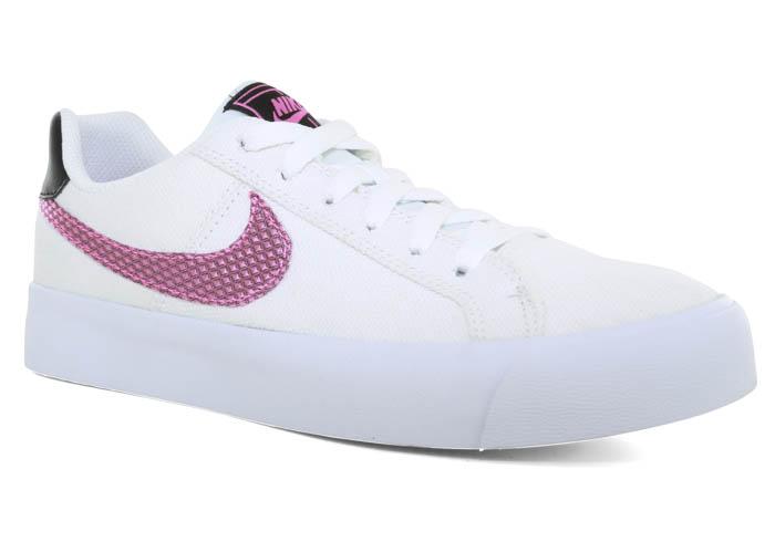 Womens Nike Court Royale Canvas WhiteRose Gold