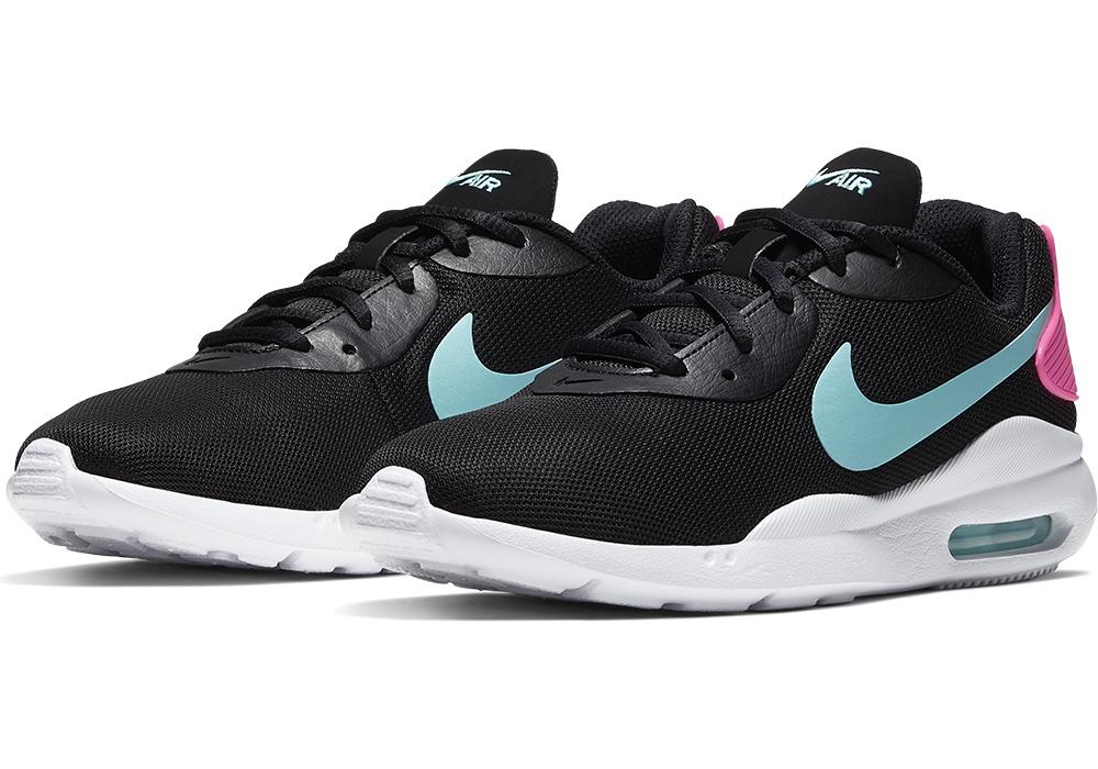 Womens Nike Air Max Oketo Black/Blue/Pink