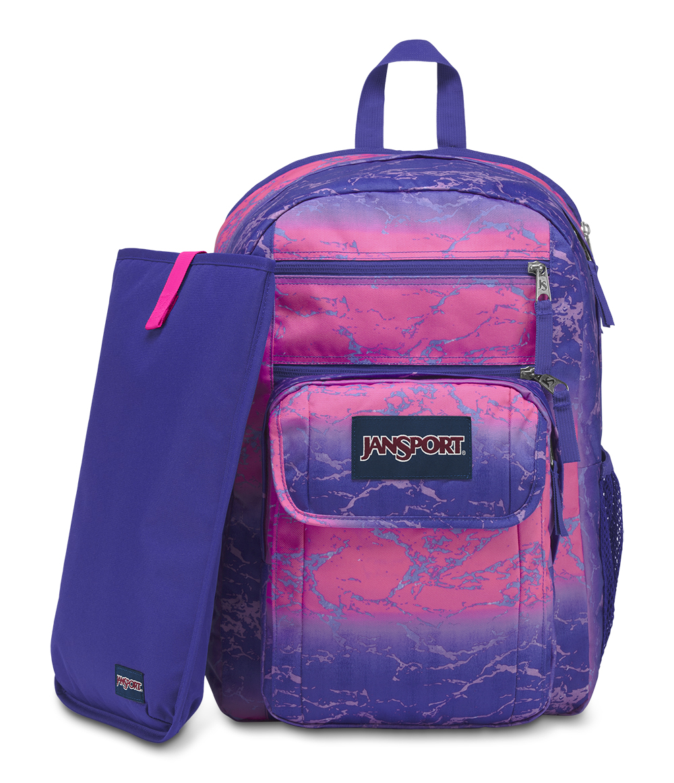 5e035c13e27e Jansport Backpack Pink And Blue- Fenix Toulouse Handball