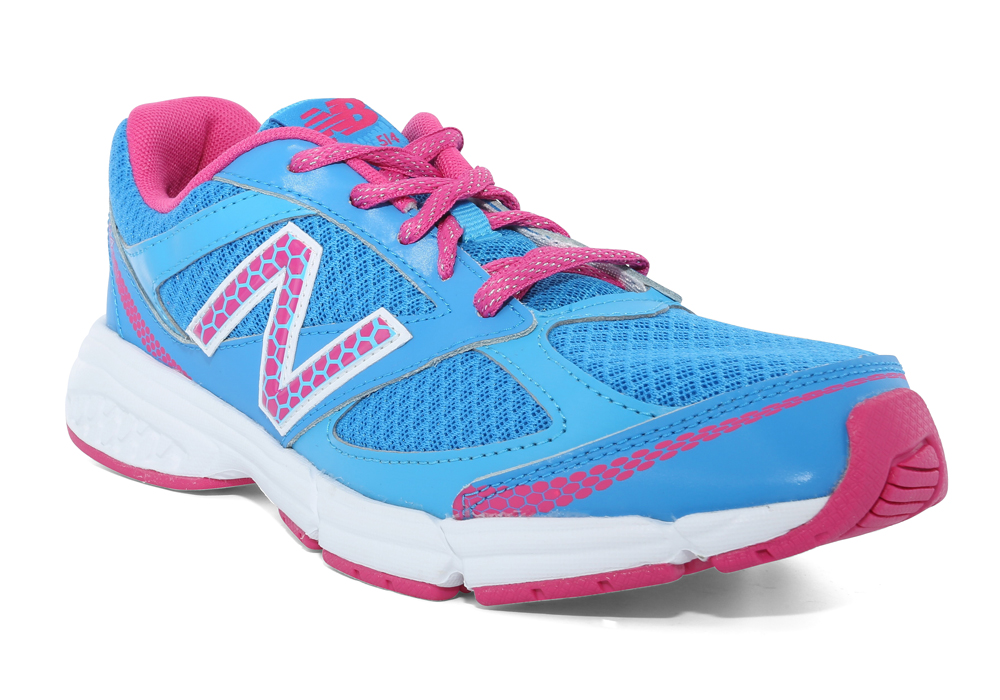 new balance girls. girls new balance 514 athletic runner blue/pink in blue a