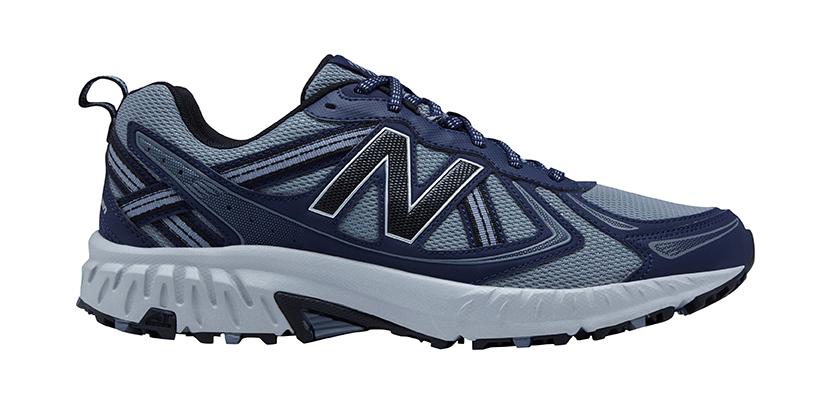 Mens New Balance 410v5 Trail Runner Navy Gray