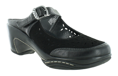 Womens Rialto Viva Mary Jane Clog Black