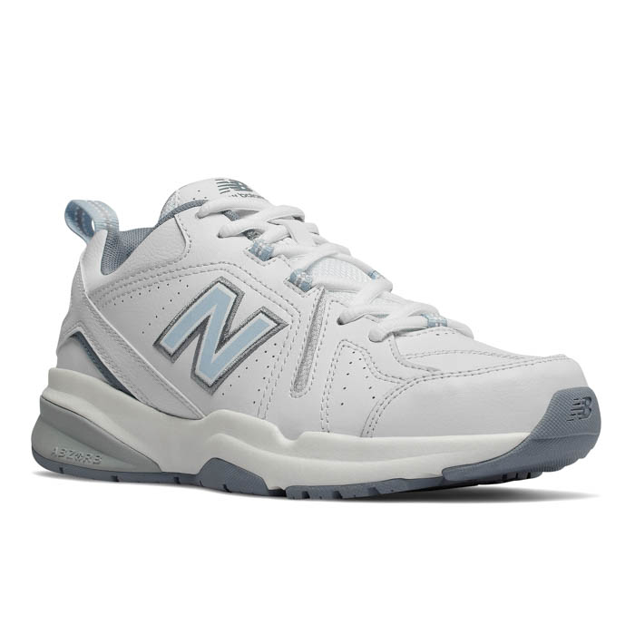 1a712f0260 Womens New Balance 608v5 Core Cross Trainer White/Blue in White