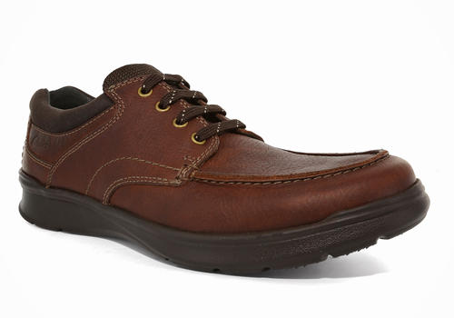 Mens Clarks Cotrell Edge Moc Toe Oxford Tobacco in Brown ...