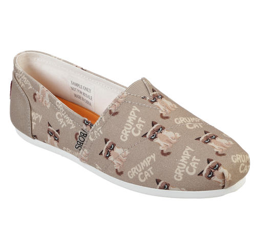 6de6438698cc Skechers > Womens Skechers BOBS Plush Crabby Kitty Taupe Multi