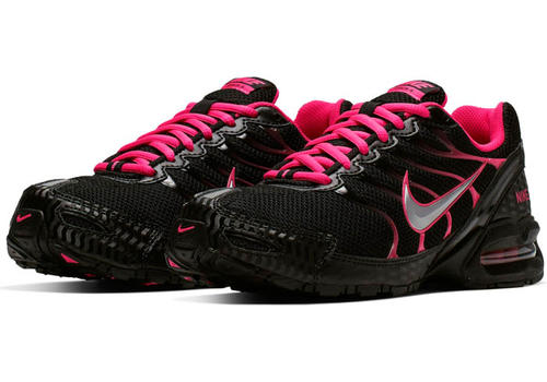 fe71801257a Womens Nike Air Max Torch 4 Runner Black Pink in Black ...