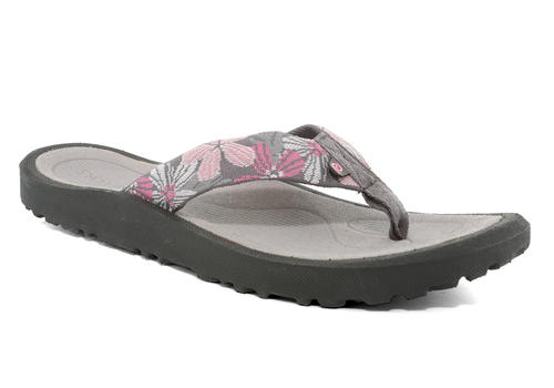 2a1af1f500b18 Rafters   Womens Rafters Breeze Tropicana Thong Grey Pink