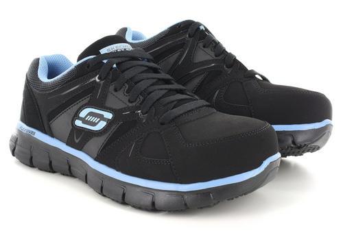 Puntera De Acero Zapatos De Trabajo Skechers EizvN