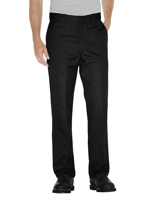Mens Dickies Multi Use Pocket Work Pants Black