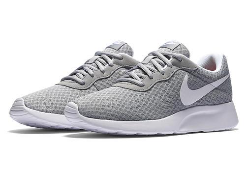Womens Nike Tanjun Runner Gray/White in Gray ...