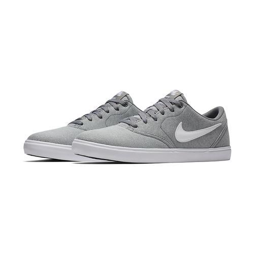 purchase cheap c4bb9 39c7c Mens Nike SB Check Solarsoft Canvas Gray/White in Gray ...