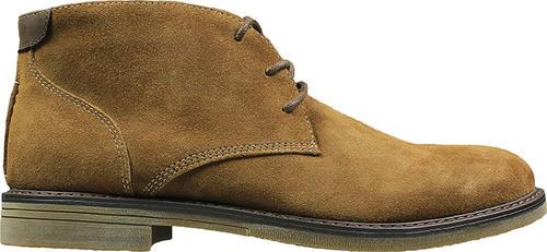 7611d86fa6af0 Mens Nunn Bush Lancaster Plain Toe Chukka Boot Camel Suede in Brown ...