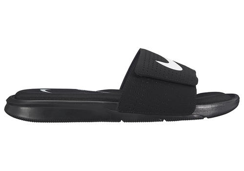 73ab30d3e22f02 Mens Nike Ultra Comfort Slide Black White in Black ...