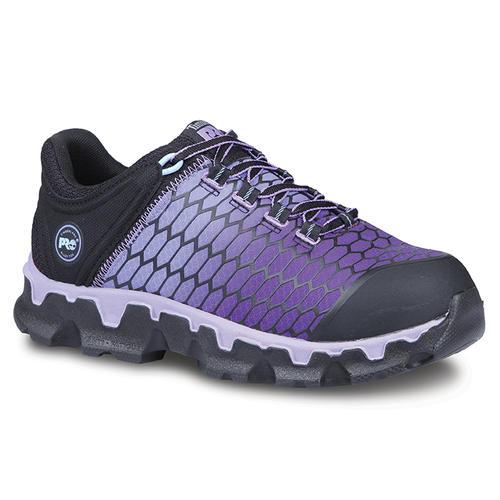 Womens Timberland PRO Alloy Toe SD Powertrain Black Purple in Black ... 9502630b6b