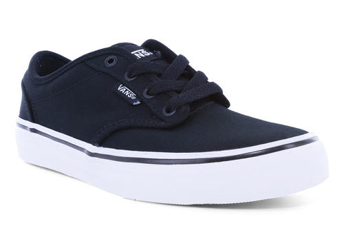 fc6a5a2c8de3 Mens Vans Atwood Canvas Navy White in Blue ...