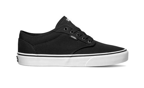 vans atwood canvas black and white