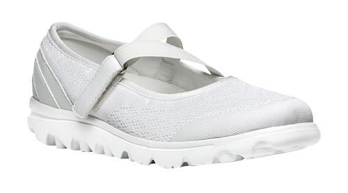 Womens Propet TravelActiv™ Mary Jane White in White ...