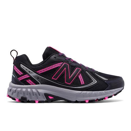 Womens New Balance 410v5 Trail Runner Black/Pink in Black ...