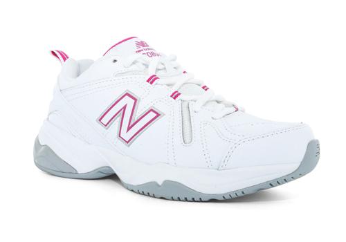 Damenschuhe New Balance Balance Balance 608 Cross Trainer Weiß Pink bcceef